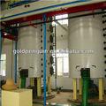 50 tpd de aceite de semilla de algodón del proceso de extracción