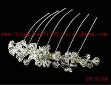 Beauty metal crystal hair accessories