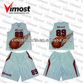 Uniforme del baloncesto sublimado \ sublimación completo \ 100% de poliéster \ la instalación gratis
