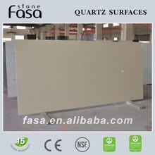 Original beige engineered quartz stone
