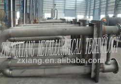 Centrifugal casting radiant tubes for metallurgy hot dip galvanizing line heating furnace