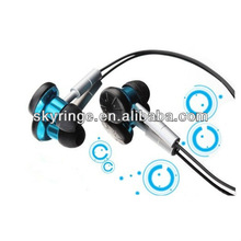 Top Blue in-ear stereo earphones 2012