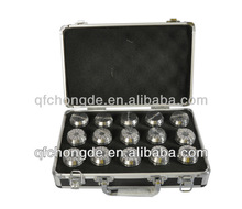 ER Collet set grooving and clamping spring collet