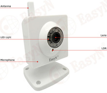 EasyN mini wireless ip camera with IR night vision up to 15 metres