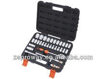 "32pcs auto repair use 1/2"" 6PT socket set, hex wrenches"