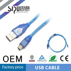 SIPU good quality am-mini 5p usb cable