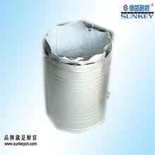 Disposable container aluminum foil round bottom food bag