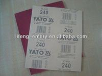 Yato brand Wood sand paper abrasive tool