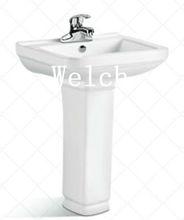 bathroom sink corner washing basin,square shape 025B