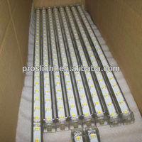 CE,RoHS 5050 smd led showcase glass shelf light