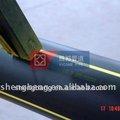 110mm tubo de plástico de polietileno de alta densidad de tuberías de plástico