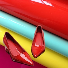 pu leather for shoe patent leather 100% pu synthetic leather (cuero sintetico para calzado)