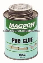 pvc plastic pipe adhesive,PVC cement,MPD 153, PVC cleaner