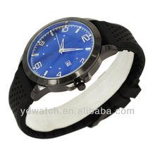 Alloy quartz wrist watches men, japan movt