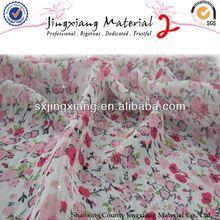 2013 Shaoxing 100% Polyester Chiffon Fabric For ivory chiffon wedding dresses