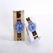 wholesale custom resealable food grade paper lined plastic kraft paper bag