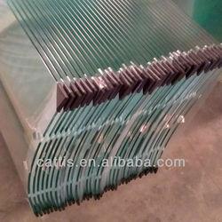10mm BENT TEMPERED GLASS FOR SHOWER ROOM