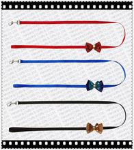 L101 Nylon best dog leash with bowknot,fashion pet dog leash