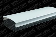 blanc couleur de la bande de plafond diffuseur de la lampe couvre