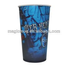 Plastic 3d lenticular cups