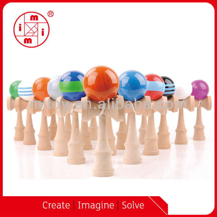 Kendama toy from ICTI factory