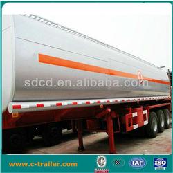 oil tanker trailer carrying oil/asphalt/chemical liquid