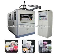 cup chain making machine, plastic cup making machine, thermoforming machine