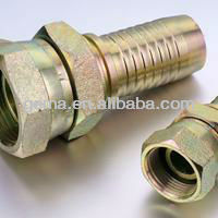 female nipple steel barb fittings swivel joint fittings push fit plumbing fittings