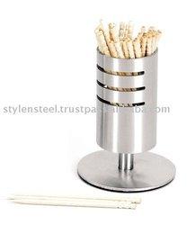 Stainless Steel Toothpick Holder