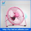 6' usb mini metal cooling fan / mini portable small fan / mini fan