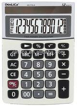 12 digit big solar calculator mini desktop calculator