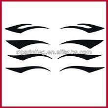 fashion eye decoration sticker / temporay eyeliner tattoos