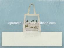 Organic Canvas Shoulder Tote Bag
