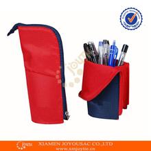 polyester trendy pencil bag/cheap pencil cases/zipper pencil case