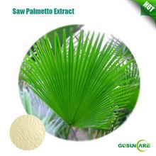 100% natural fatty acid Saw Palmetto P.E. Powder