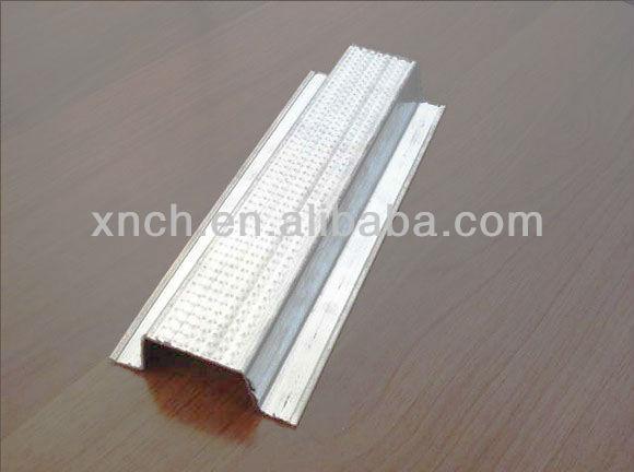 Galvanizli çelik şapka/pas kanalı asma tavan