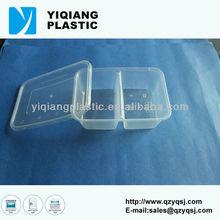 PP transparent disposable plastic lunch box