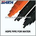 As / NZS4130 tubos de pead padrão pe100 pe / hdpe tubos para água gás de drenagem