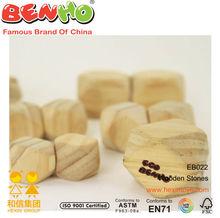 New Eco Benho Wooden Stones crazy toys