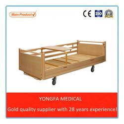 A24 YFC2601 Wood Manual Nursing Bed