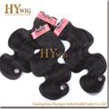 Natural y suave 100% sin procesar de pelo indio virgen