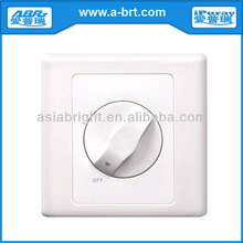Rotary Knob Dimmer Switch LED Wall Light 220V