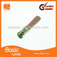 fashionable metal zipper slider