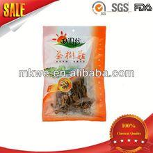 three sides sealing maya herbal packaging bag