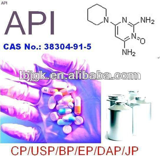 pharmaceutical Minoxidil, CAS No.: 38304-91-5/Blood pressure lowering drugs