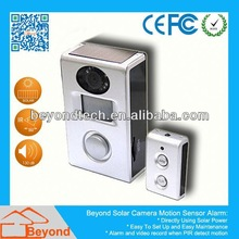 Sport Diving Dvr Solar Camera Alarm With Video Record and Solar Panel