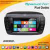 fiat doblo dvd player car radio gps navigation 2012-2013 with bt tv video ipod blue&me aux