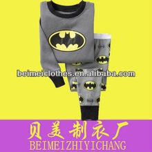 kid child baby pajamas 100% cotton sleepwear for boy pyjamas for girl