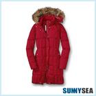 Elegant unique women's coat,winter coat,brand name women winter coat