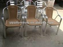 new&pop outdoor aluminiun-cane chair
